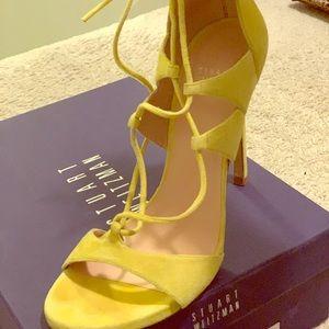 Stuart Weitzman Neon Yellow Heels
